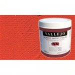 Acrílico Vallejo Artist n. 804 color cadmio bermellón (500 ml)