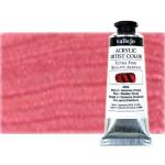 Acrílico Vallejo Artist n. 713 color rojo iridiscente (60 ml)
