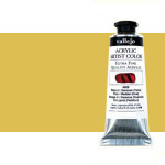 Acrílico Vallejo Artist n. 424 color transóxido amarillo (60 ml)