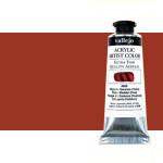 Acrílico Vallejo Artist n. 425 color transóxido rojo (60 ml)