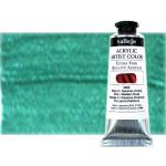 Acrílico Vallejo Artist n. 715 color verde iridiscente (60 ml)