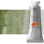 Acuarela Artist Winsor & Newton color tierra verde sombra amarilla (14 ml)