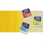 Acuarela Cotman Winsor & Newton 1/2 godet color amarillo de cadmio pálido