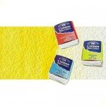 Acuarela Cotman Winsor & Newton 1/2 godet color amarillo limón