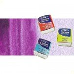 Acuarela Cotman Winsor & Newton 1/2 godet color púrpura