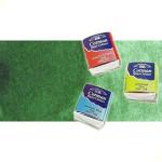 Acuarela Cotman Winsor & Newton 1/2 godet color verde de Hooker claro