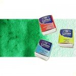 Acuarela Cotman Winsor & Newton 1/2 godet color verde intenso