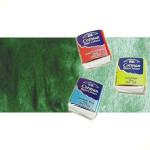 Acuarela Cotman Winsor & Newton 1/2 godet color verde de Hooker oscuro