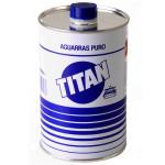 Aguarras Puro Titan, 1000 ml.