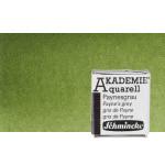 Acuarela Schmincke Akademie, Verde Oliva 554, 1/2 Godet.