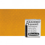 Acuarela Schmincke Akademie, Amarillo Ocre 660, 1/2 Godet.