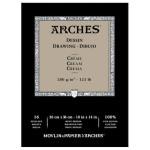Dibujo Arches 200 gr, 26x36 cm, Crema, block 16 h.