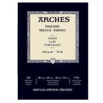 Esbozo Arches 105 gr, 26x36 cm, G.Verjurado, block 20 h.