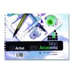 Acuarela Artist 250 gr, 22x16 cm, G. Fino, Block 20 h.