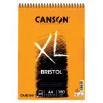 Bloc XL Bristol Ilustración Canson, 50 hojas, 180 gr., A4 (anillas)