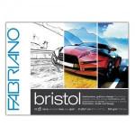 Bloc de ilustración y diseño Bristol Fabriano, 20 hojas, 250gr,29.7x42cm