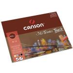 Bloc Canson Mi-Teintes Touch, colores variados, 12 h. 350 gr 29,7x42 cm (A3)