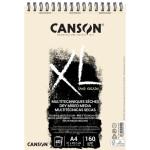 Bloc XL Sand Grain natural Canson, 40 hojas, 160 gr., A4 (anillas)