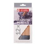 Caja lápices de grafito 12 unidades Art Creation