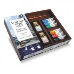 Caja de madera con 12 colores óleo Sennelier (10 ml) *