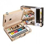 Caja de madera con 10 colores óleo Van Gogh (40 ml)