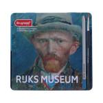 Caja Edición Especial 24 lápices acuarelables Bruynzeel- Autorretrato Van Gogh