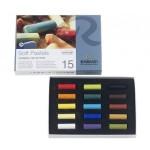 Caja pastel Rembrandt 15 medios colores, Seleccion General