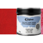 Tinta Grabado Ecológica Rojo Naftol, Lata 250 gr.