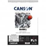 Canson The Wall (Block), Extraliso, 30h., 220 gr., A3+