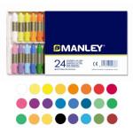 Ceras Manley, 24 colores