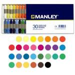 Ceras Manley, 30 colores