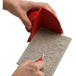 Protector de manos salvacortes para xilografia y linograbado