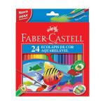 Estuche 24 lapices acuarelables Faber Castell