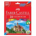 Estuche 24 lapices color Faber Castell