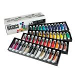 Estuche con 48 colores acrílicos Liquitex Basics (22 ml)