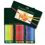 Estuche de Lápices color POLYCHROMO, Faber Castell (60 colores)