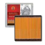 Estuche de 24 lápices de grafito Koh-i-Noor