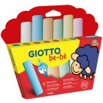 Giotto Be-Bè: Set 6 tizas de colores