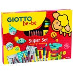 Giotto Be-Bè: Super Set, colorea y modela