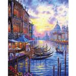 "Pintar por números kit cuadro ""El Gran Canal de Venecia"", 40x50cm, Figured'Art"