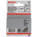 Grapas typ 53 Bosch, caja 1000 uds.