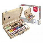Caja de madera Basic 10 acrílicos Van Gogh (40 ml) -Limited Edition-