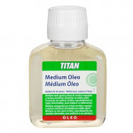 Medium para colores al óleo Titan (100 ml)