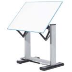 Mesa de dibujo profesional regulable con palanca de pie, 90x130 cm.