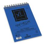 XL Mix Media Canson 300 gr, 21x29.7, Gr. Medio, block 30 h.