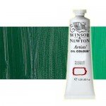 Óleo Winsor & Newton Artists color verde oscuro permanente (37 ml)