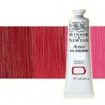 Óleo Winsor & Newton Artists color rojo quinacridona (37 ml)