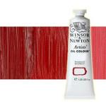 Óleo Winsor & Newton Artists color rojo Winsor oscuro (37 ml)