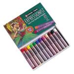 Caja pastel al Oleo Sakura Expressionist, 12 colores