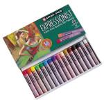 Caja pastel al Oleo Sakura Expressionist, 16 colores